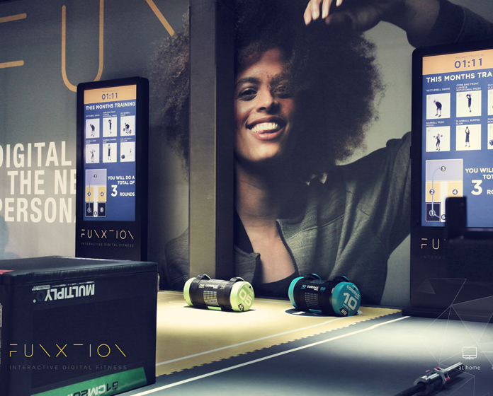 FunXtion uses a multi-device platform – including an app, wearable tech and in-club touch screen technology