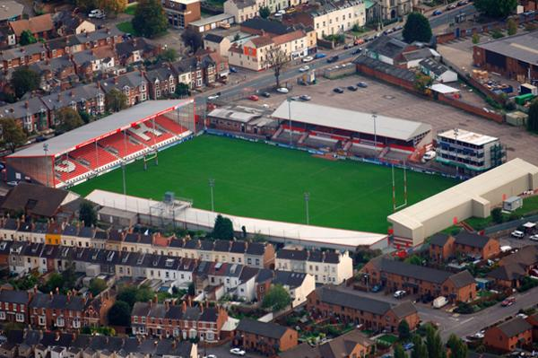 Kingsholm will be one of the oldest venues used during the tournament