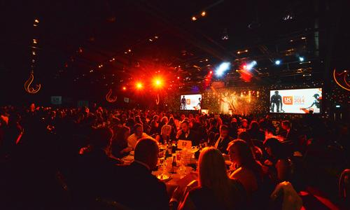 Last year's glitzy awards ceremony saw roughly 850 industry representatives in attendance