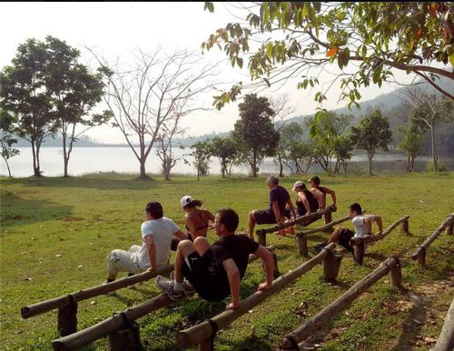 Military boot camp and spa digs heels into northern Thailand