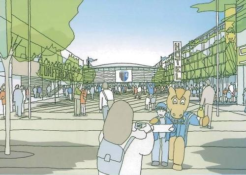 Gillingham FC stadium plans would make new ground one of the biggest in League One
