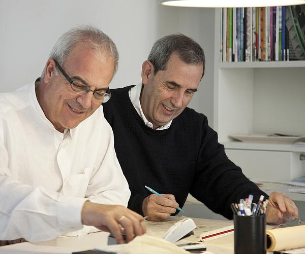Studio founders Antonio Cruz Villalón (left) and Antonio Ortiz García
