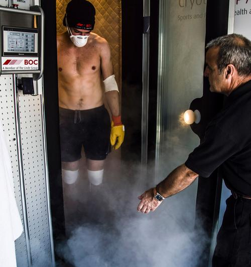 ClanFit Glasgow chills members with cryotherapy offering