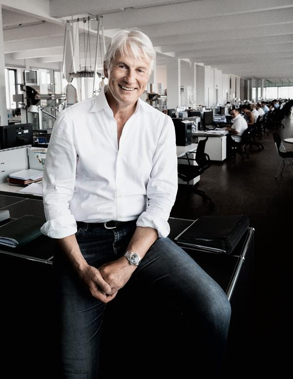 Christoph Ingenhoven has championed sustainable architecture for more than 30 years. He is Super Jury member at this year's World Architecture Festival