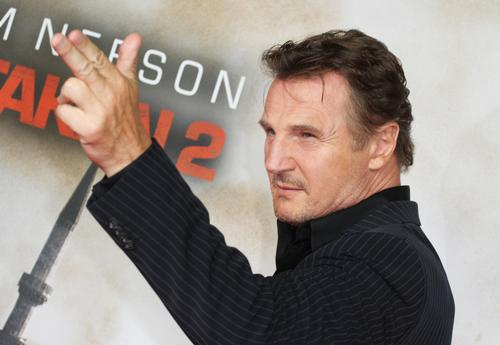 Liam Neeson has starred in a number of hit films including Taken