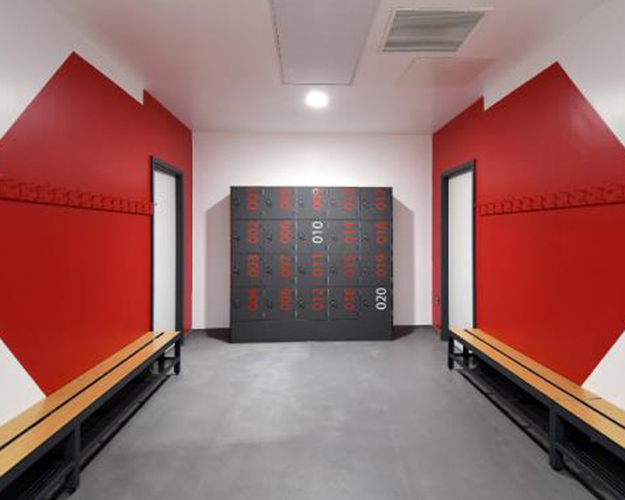 The lockers are designed to prevent rust and corrosion