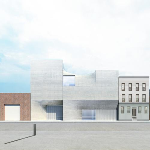 The Artes Amant exterior will interact with the industrial surroundings / Courtesy of SO – IL