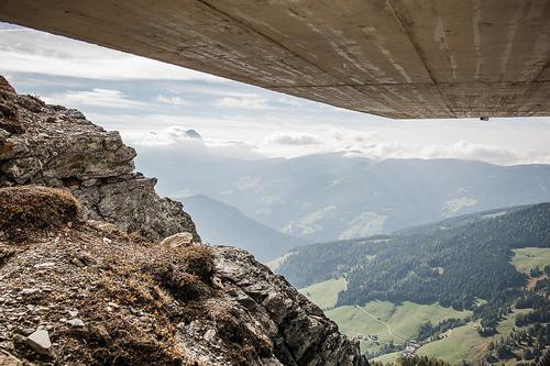 The museum offers unique views of both the Dolomites and the Alps / Zaha Hadid Architects