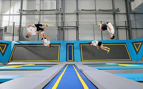 Stalker believes parks are a great introduction to trampolining as a sport