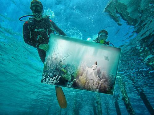 Underwater exhibition makes waves at Niyama and Huvafen Fushi resorts