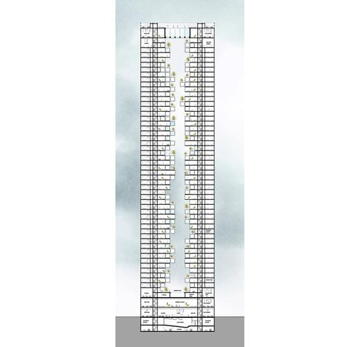 The competition was hosted by Super Skyscrapers, an organisation exploring how the design of very tall structures can impact urban planning and shape the lives of communities / Tommaso Bernabò Silorata
