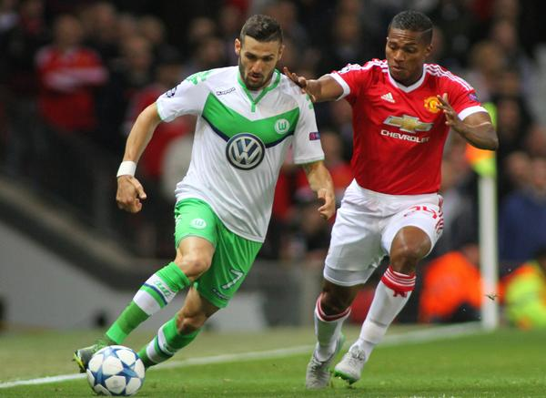 VfL Wolfsburg eliminated Manchester United from the 2015-16 Champions League / shutterstock