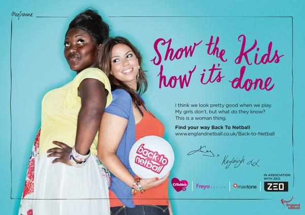 The Back to Netball campaign has attracted 75,000 women since 2012