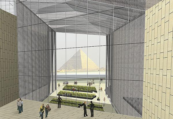 The Grand Egyptian Museum is due to open in 2018
