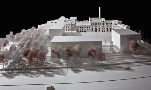 The project is scheduled for completion by 2019 / Reindeer Renderings for David Chipperfield Architects
