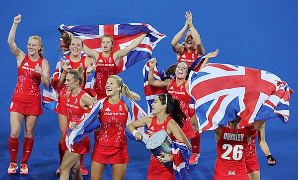 The GB women's hockey team demonstrated their skill when they won gold at the 2016 Olympics