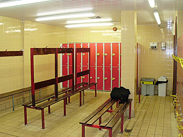 Before Llantrissant's revamped changing areas