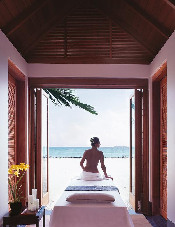 The Gathy-designed One&Only Reethi Rah resort in the Maldives attracts 80 per cent return guests
