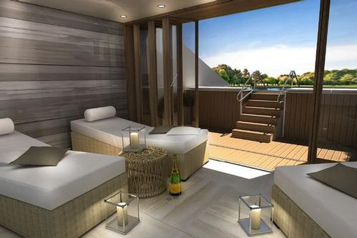 A new spa is expected to open in May 2015, offering 12 treatment rooms