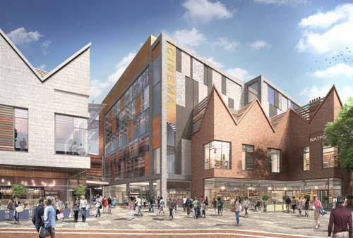 Multiplex cinema to be centrepiece of Watford's new shopping centre