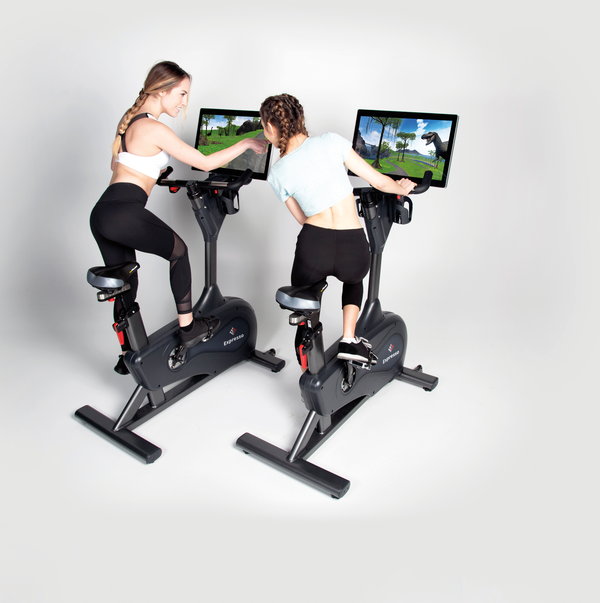 The Expresso bike from React Fitness is specified by Equinox