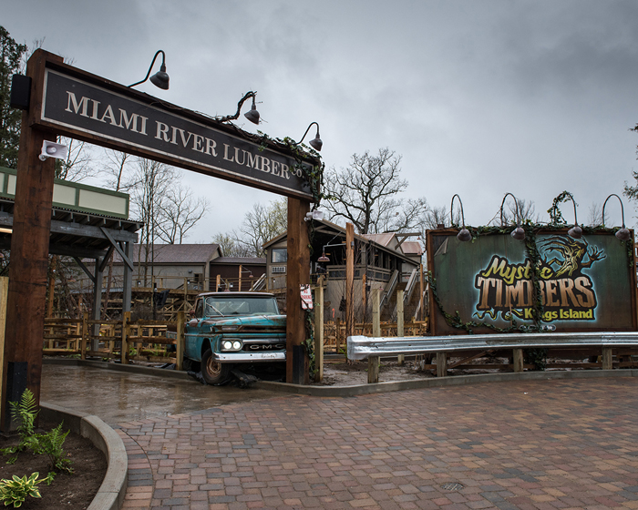 Holovis's Amy Steele opens the door to the Mystic Timbers shed
