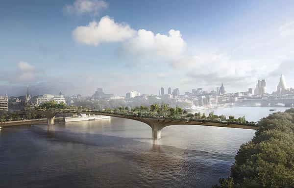 Dan Pearson was commissioned to do the planting for Heatherwick's Garden Bridge