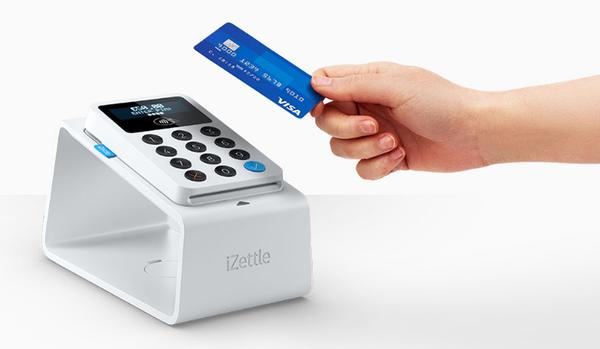 iZettle produces mini credit card readers 