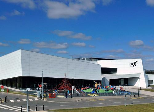 The new £24m ON-X leisure centre in Linwood