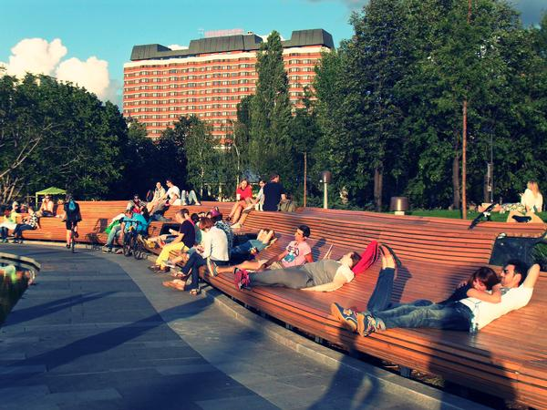 Gehl Architects partnered with Moscow's City Planning department