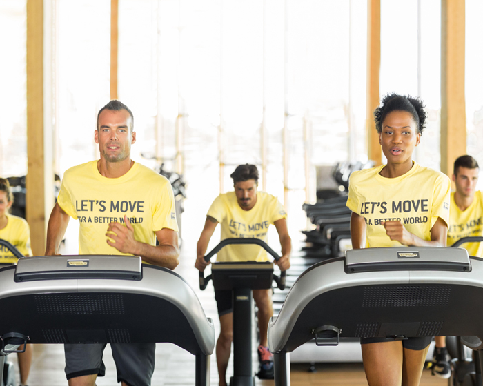 Technogym launches 2018 edition of 'Let's Move for a Better World' campaign