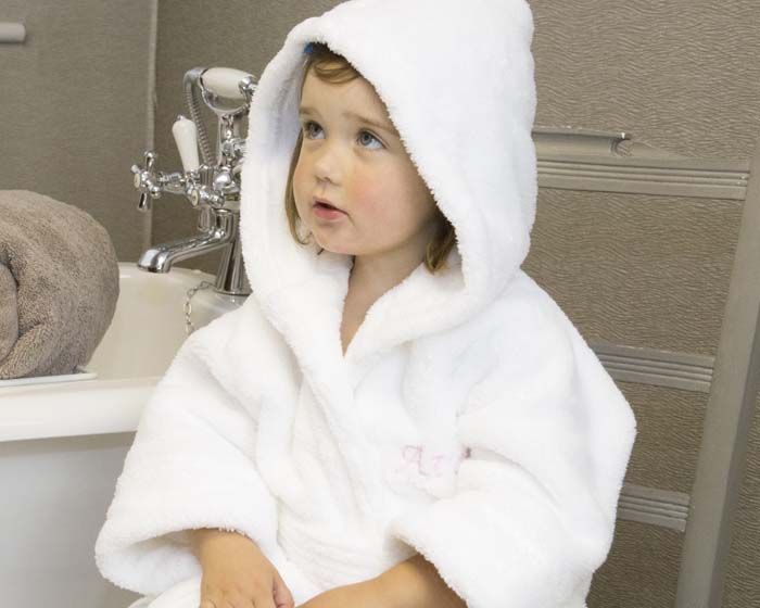 Introducing BC Softwear's new Fleecy Bathrobe for Adults and Children