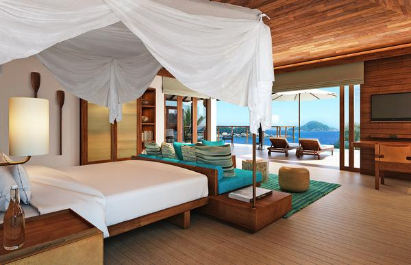 The group's Zil Pasyon resort in the Seychelles, which is due to open late 2015