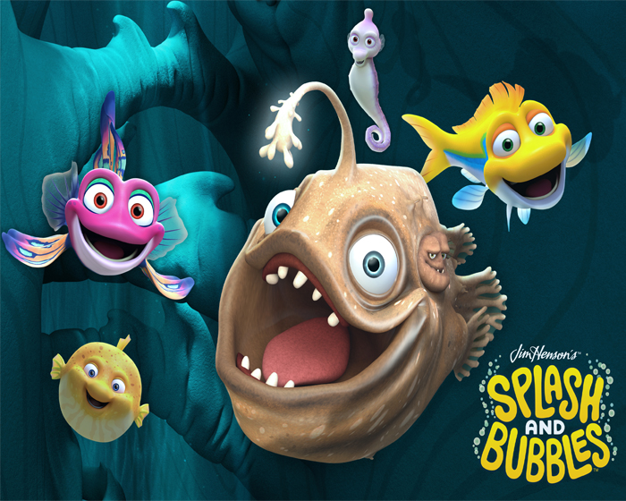 Splash and Bubble encourages children to explore marine biology and science
