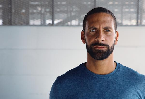 Ex footballer Rio Ferdinand has set his sights on helping communities in need / portraits by Jake Ratcliffe