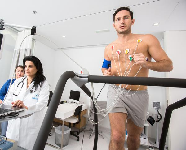 Lampard is a fan of the clinic's focus on early-stage injury risk detection