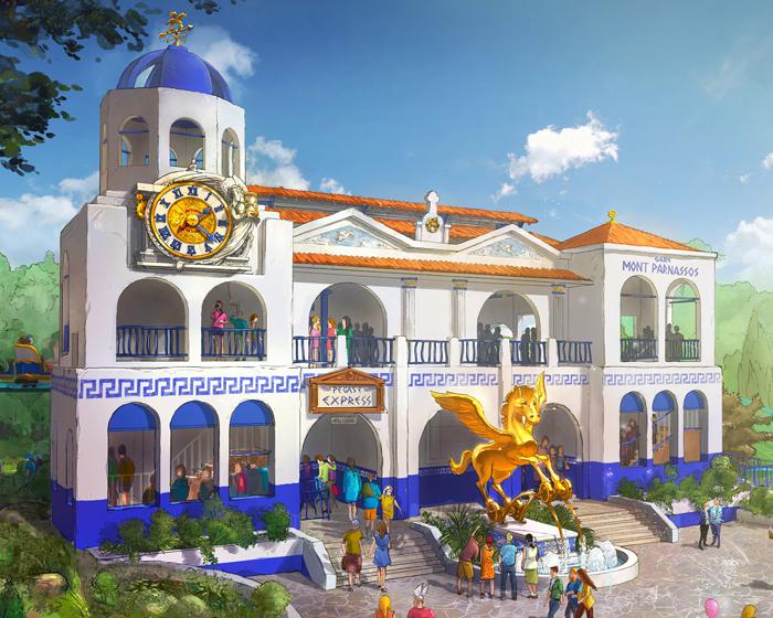 Jora Vision designs new mega roller coaster for Parc Astérix in France