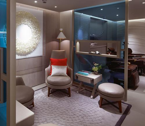The House of Elemis Miami will be similar in look and feel to the original London location, shown here / Elemis