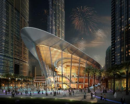Dubai Opera can be configured for different events