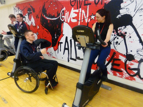 InstructAbility has given spinal injury victim Vaughan a new career