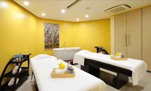Other L'Occitane spas are located in several cities across India, such as Amer, Gulmarg, Jaipur, Mumbai, Udaipur, Mussoorie and Hyderabad / Anya Hotels and Resorts