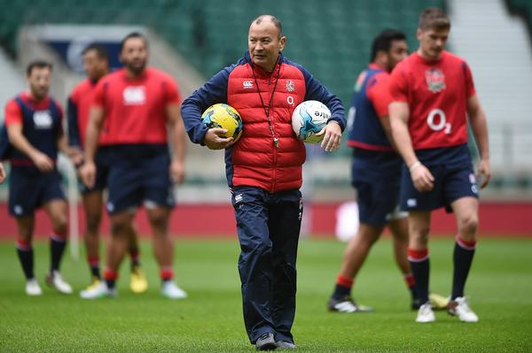 England Rugby head coach Eddie Jones says the data from Wattbike is 'invaluable'