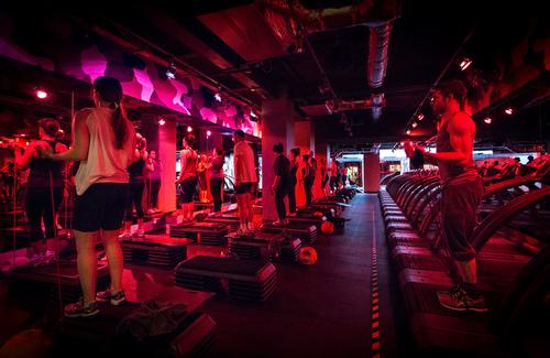 The new studio will follow the nightclub theme and high intensity workout mantra of the first Barry's Bootcamp in Euston