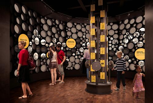 Visitors to the centre are able to experience a range of interactive experiences / MOHAI