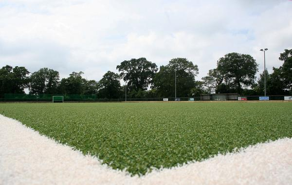 The new surface at the Forest academy