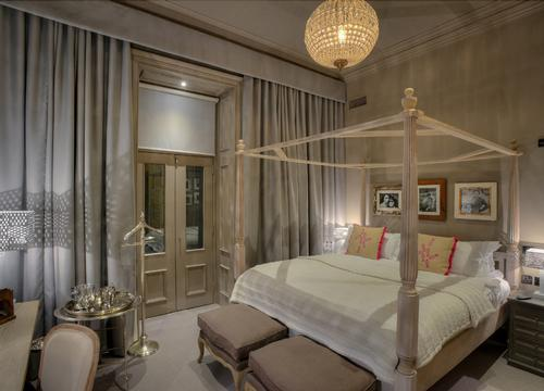 A double room at the newly opened Murrayfield House
