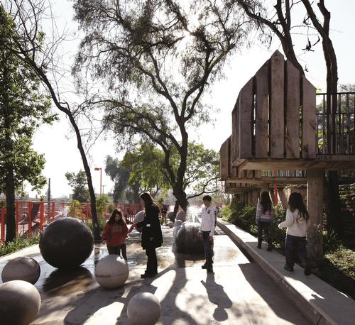 Bicentennial Children's Park, Santiago, Chile  / Cristobal Palma