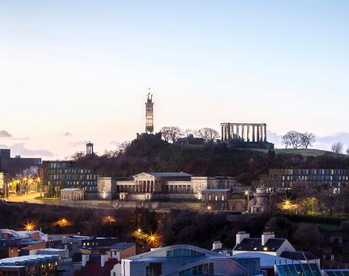 The historic landmark building on Calton Hill has stood vacant for almost 50 years / Rosewood Hotels
