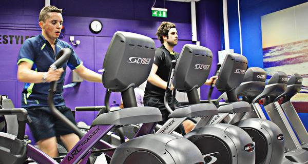 The fit-out includes Cybex Arc Trainers and VR1 strength range