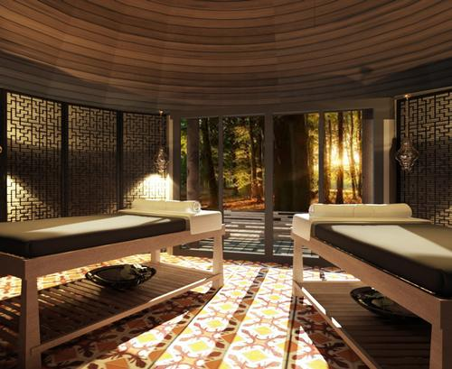 The resort's Mala Spa has eight treatment rooms alongside a Thai massage pavilion, steam and sauna rooms, fitness centre, and yoga and meditation spaces / Keemala